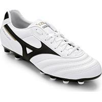 Netshoes  Chuteira Campo Mizuno Morelia Classic Md P - Unissex 5b9c41cca3677