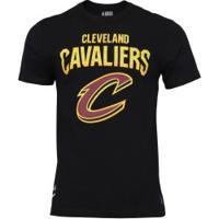 Camiseta Nba Cleveland Cavaliers 3D - Masculina - Preto