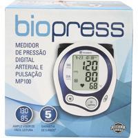 Medidor De Pressão Biopress Digital Arterial E Pulsação Mp100