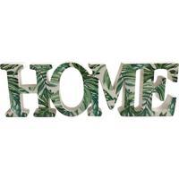 Painel Decorativo Home 31Cm - Urban - Verde