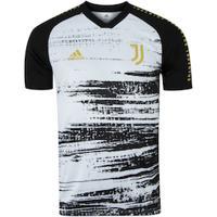 Camisa Pré-Jogo Juventus 20/21 Adidas - Masculina - Branco/Preto