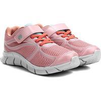 Tênis Infantil Ortopé Nylon Sport Kids - Masculino-Pink