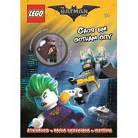 Livro Infantil - Lego - The Batman Movie - Caos Em Gotham City - Happy Books