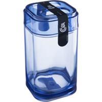 Porta Escova Splash Azul Coza