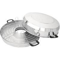 Churrasqueira Para Fogão Vitalex Cp30 Pratic Portátil Inox