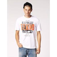Camiseta Diesel T-Just-Wa Branco