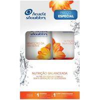Kit Head & Shoulders Shampoo Remoção Da Oleosidade 200Ml + Super Condicionador Anticaspa Nutrição Balanceada 170Ml