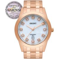 2553ee69cd0 Relógio Orient Feminino Swarovski Elements Frss1031B1Rx