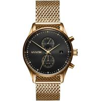 Relógio Mvmt Masculino Aço Dourado - D-Mv01-G2