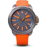 Relógio Hugo Boss Masculino Nylon Laranja - 1513010