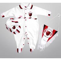 Netshoes  Conjunto Flamengo Maternidade C  4 Peças Infantil - Unissex 34e0ee47d2571