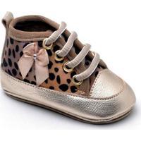 Tênis Top Franca Shoes Infantil - Feminino-Onça