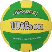 Bola Vôlei Wilson Super Soft Play - Unissex