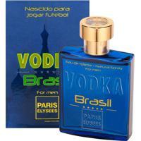 Vodka Brasil Azul De Paris Elysees Eau De Toilette Masculino 100 Ml