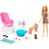 Boneca Barbie Fashionista Salão De Manicure