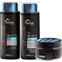 Kit Truss Miracle 1 Shampoo 300Ml + 1 Condicionador 300Ml + 1 Máscara 180G - Unissex-Incolor