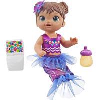 Boneca Baby Alive Linda Sereia Morena - Hasbro