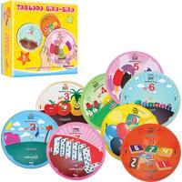 Brinquedo Educativo Tabuada Gira-Gira Ciabrink Colorido