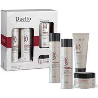 Kit Home Care Duetto 1 Shampoo 300Ml + 1 Condic. 300Ml + 1 Leave-In 200Ml + 1 Máscara 280G - Unissex-Incolor