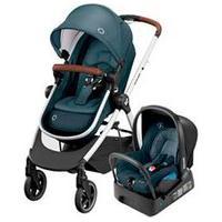 Carrinho Com Bebê Conforto Anna Trio Travel System Essential Graphite - Maxi-Cosi
