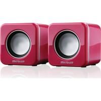 Caixa De Som Multilaser 4W Rms Mini Rosa - Sp103
