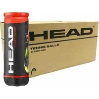 Bola De Tênis Head Championship - Caixa Com 24 Tubos - 72 Bolas - Unissex