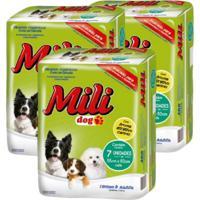 Tapete Higiênico Para Cães Mili Dog 36 Tapetes