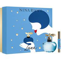 Kit Perfume Feminino Luna Nina Ricci Eau De Toilette 80Ml + Lipstick - Feminino-Incolor