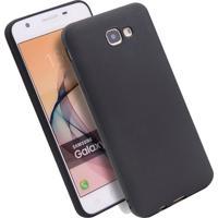 Capa Case De Silicone Para Galaxy J5 Prime Preto