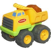 Carrinho Com Sons - Rumblin Dump Truck Com Luzes - Playskool - Hasbro - Unissex