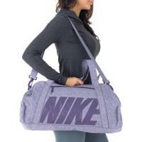 Mala Nike Gym Club 30 Litros - Feminina - Roxo Escuro