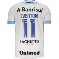 Camisa Umbro Grêmio Ii 2018 11 Everton