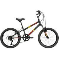 Bicicleta Infanto Juvenil Caloi Snap Aro 20 7 Velocidades - Masculino