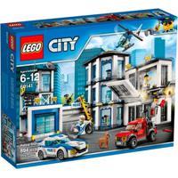 Lego City - Estação Policial - 60141 - Unissex-Incolor