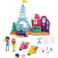 Boneca Polly Pocket Aventuras Em Paris Com Acessórios - Feminino-Colorido