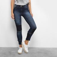 Calça Jeans Skinny Colcci Base Cory Cintura Alta Feminina - Feminino-Jeans