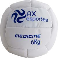 Bola Medicine Ball 6 Kg Ax Esportes Costurada - 530097