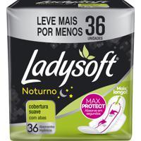 Absorvente Ladysoft Normal Noturno Cobertura Suave Com Abas 36 Unidades Leve Mais Pague Menos