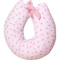 Almofada Amamentação Padroeira Baby Delicate Rosa
