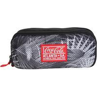 Estojo Escolar Coca-Cola Fiji Duplo - Masculino