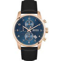 Relógio Hugo Boss Masculino Couro Preto - 1513783