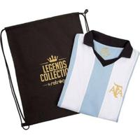 Camisa Argentina Retrô Legends Collection + Sacola - Masculino