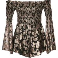 Alice Mccall Doing It Right Playsuit - Preto