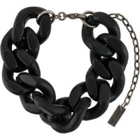 Saint Laurent Pulseira De Corrente - Preto