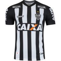 Camisa Do Atlético-Mg I 2018 Topper - Masculina - Preto/Branco