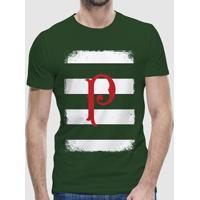 Camiseta Palmeiras Casual P Masculina - Masculino