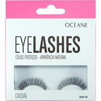 Cílios Postiços Océane - Eyelashes Casual Pack Unitário - Feminino-Incolor