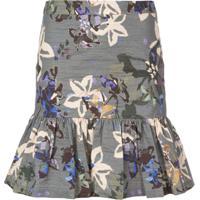 Nicole Miller Autumn Dream Skirt - Azul