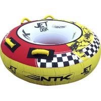 Boia Rebocável Ntk Jet Disk Amarelo
