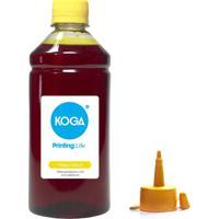 Tinta Para Epson Bulk Ink L210 Yellow 500Ml Corante Koga